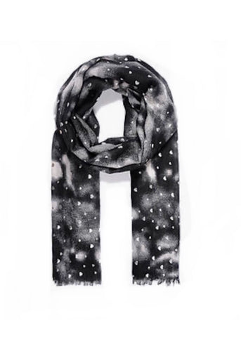 Black Heart Scarf