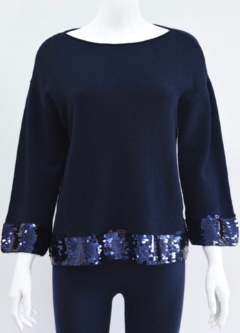 Sparkle Trim Jumper