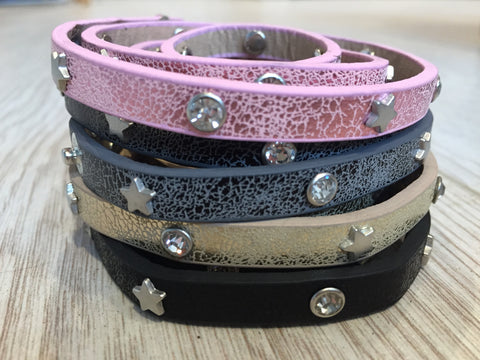 Thin Strap Leather Bracelets