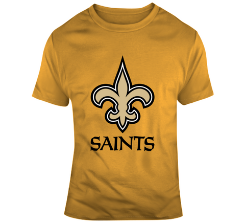 New Orleans Saints Cotton Tee,  [product_collection], DEFINITE Sporting Goods, [product_tags]- DEFINITE Sporting Goods