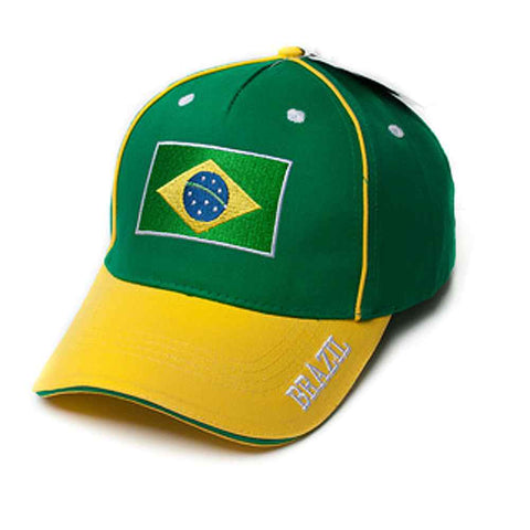 World of Sports Cap - Brazil,  [product_collection], DEFINITE Sporting Goods, [product_tags]- DEFINITE Sporting Goods