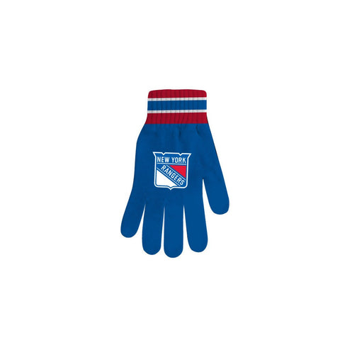 NHL New York Rangers Gloves [One Size],  [product_collection], DEFINITE Sporting Goods, [product_tags]- DEFINITE Sporting Goods