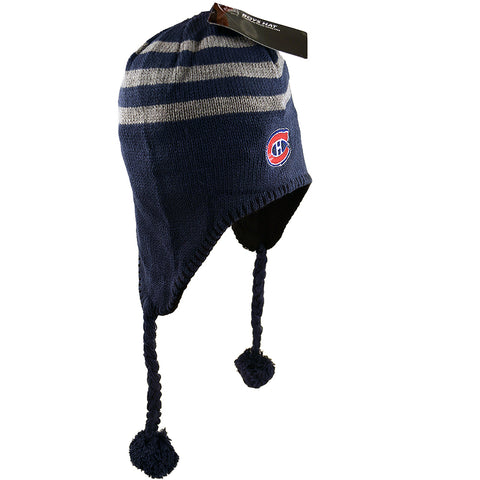 NHL Montreal Canadiens Habs Fleece-Lined Boys Hat [Blue],  [product_collection], DEFINITE Sporting Goods, [product_tags]- DEFINITE Sporting Goods