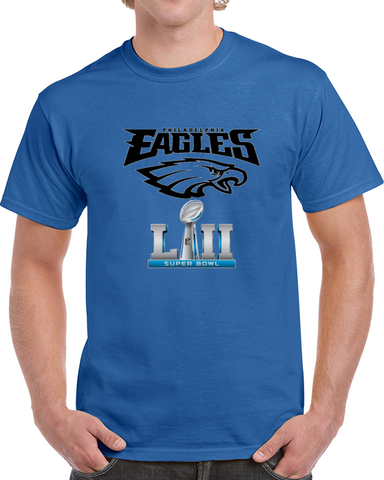 Philadelphia Eagles Super Bowl 52 Tee And Hoodie,  [product_collection], DEFINITE Sporting Goods, [product_tags]- DEFINITE Sporting Goods