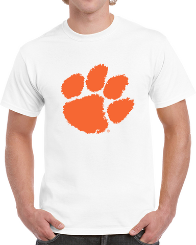 Clemson Tiger Paw T Shirt,  [product_collection], DEFINITE Sporting Goods, [product_tags]- DEFINITE Sporting Goods
