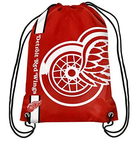 Detroit Red Wings Drawstring Backpack,  [product_collection], DEFINITE Sporting Goods, [product_tags]- DEFINITE Sporting Goods