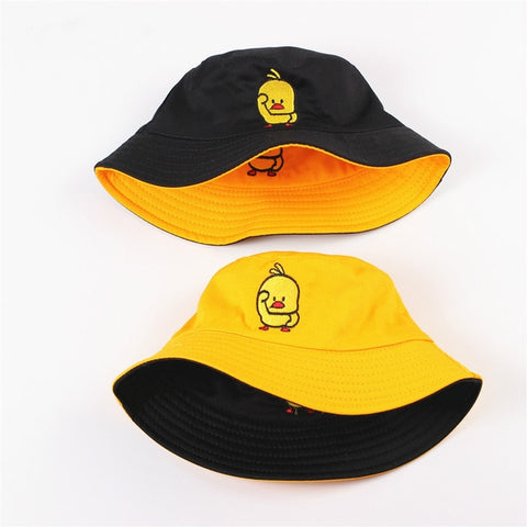 The Duck Steelers Black and Yellow Reversible Bucket Hat,  [product_collection], DEFINITE Sporting Goods, [product_tags]- DEFINITE Sporting Goods