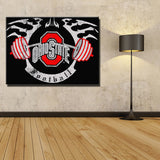 Ohio State Buckeyes Football  Canvas Wall Decoration 6 Sizes,  [product_collection], DEFINITE Sporting Goods, [product_tags]- DEFINITE Sporting Goods