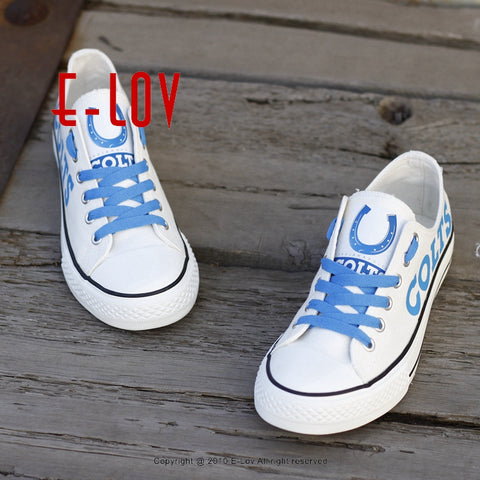 Indianapolis Colts NFL Canvas Shoes,  [product_collection], DEFINITE Sporting Goods, [product_tags]- DEFINITE Sporting Goods
