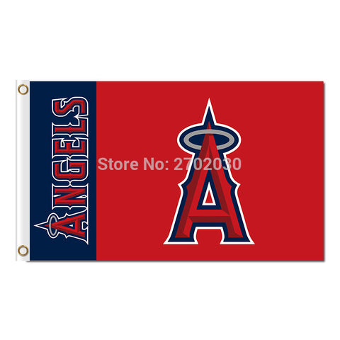 Los Angeles Angels Of Anaheim Flag 3X5 Feet MLB,  [product_collection], DEFINITE Sporting Goods, [product_tags]- DEFINITE Sporting Goods