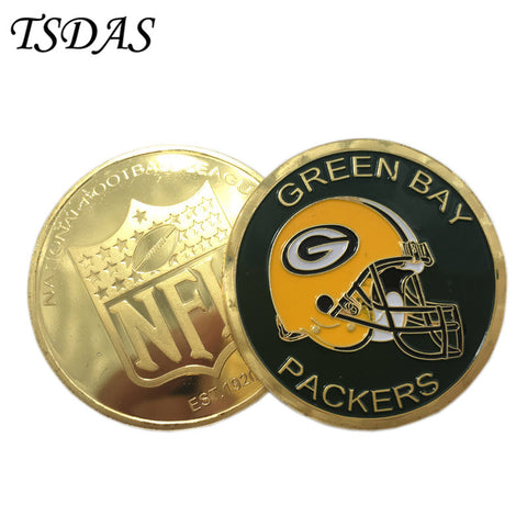 NFL Green Bay Packers Collectible Coin,  [product_collection], DEFINITE Sporting Goods, [product_tags]- DEFINITE Sporting Goods
