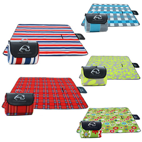 WT Outdoor Picnic Mat Water-Proof for Beach and Camping,  [product_collection], DEFINITE Sporting Goods, [product_tags]- DEFINITE Sporting Goods