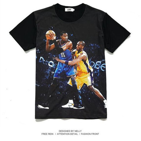 Durant Vs Kobe T-Shirt,  [product_collection], DEFINITE Sporting Goods, [product_tags]- DEFINITE Sporting Goods