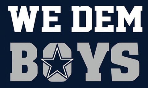 NFL WE DEM BOYS Dallas Cowboys Flag 3X5 Feet,  [product_collection], DEFINITE Sporting Goods, [product_tags]- DEFINITE Sporting Goods