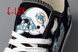 Miami Dolphins NFL Canvas Shoes,  [product_collection], DEFINITE Sporting Goods, [product_tags]- DEFINITE Sporting Goods