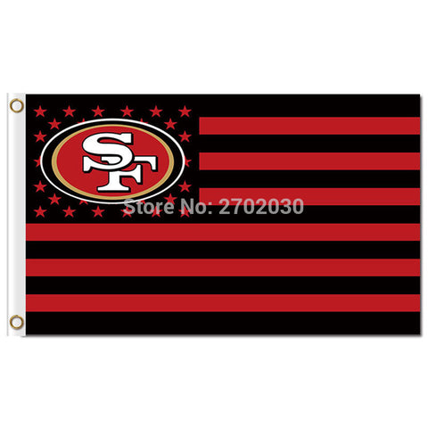 NFL San Francisco 49ers USA Flag,  [product_collection], DEFINITE Sporting Goods, [product_tags]- DEFINITE Sporting Goods