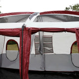 8-10 Person 2-Bedroom Outdoor Camping Tent,  [product_collection], DEFINITE Sporting Goods, [product_tags]- DEFINITE Sporting Goods