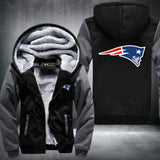 New England Patriots NFL Logo Hoodie Grey,  [product_collection], DEFINITE Sporting Goods, [product_tags]- DEFINITE Sporting Goods