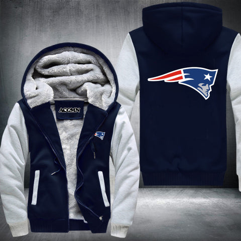 New England Patriots NFL Logo Hoodie White,  [product_collection], DEFINITE Sporting Goods, [product_tags]- DEFINITE Sporting Goods