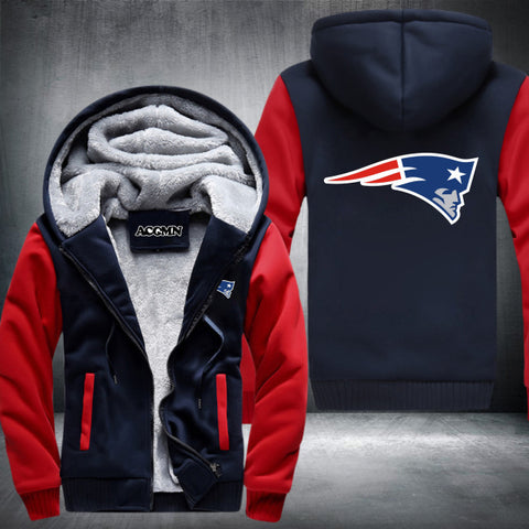 New England Patriots NFL Logo Hoodie Red,  [product_collection], DEFINITE Sporting Goods, [product_tags]- DEFINITE Sporting Goods