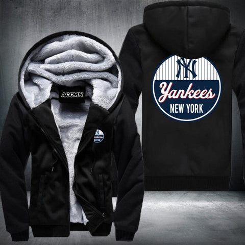 New York Yankees Logo Hoodie Black,  [product_collection], DEFINITE Sporting Goods, [product_tags]- DEFINITE Sporting Goods