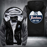 New York Yankees Logo Hoodie Grey,  [product_collection], DEFINITE Sporting Goods, [product_tags]- DEFINITE Sporting Goods