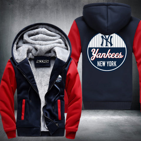 New York Yankees Logo Hoodie Red,  [product_collection], DEFINITE Sporting Goods, [product_tags]- DEFINITE Sporting Goods