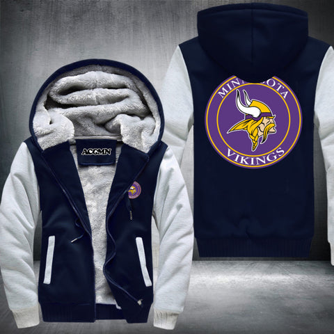 Minnesota Vikings Logo Hoodie White,  [product_collection], DEFINITE Sporting Goods, [product_tags]- DEFINITE Sporting Goods