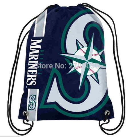 Seattle Mariners Drawstring Bag MLB,  [product_collection], DEFINITE Sporting Goods, [product_tags]- DEFINITE Sporting Goods