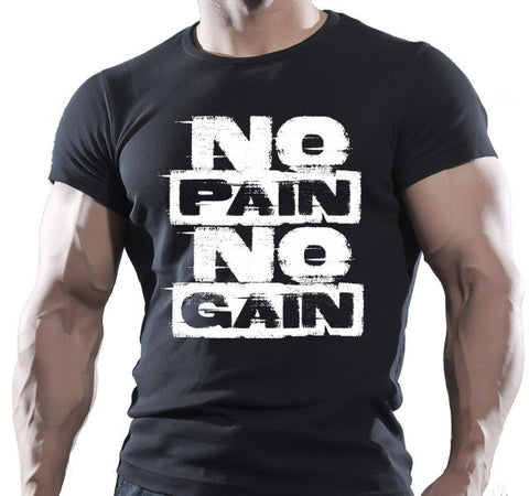 NO PAIN NO GAIN T-Shirt,  [product_collection], DEFINITE Sporting Goods, [product_tags]- DEFINITE Sporting Goods