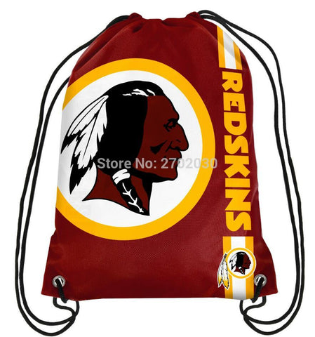 Washington Redskins Drawstring Bag,  [product_collection], DEFINITE Sporting Goods, [product_tags]- DEFINITE Sporting Goods