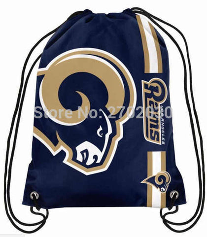 Los Angeles Rams Drawstring Bag,  [product_collection], DEFINITE Sporting Goods, [product_tags]- DEFINITE Sporting Goods