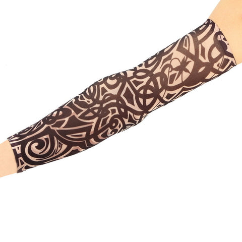 Fake Tattoo Elastic Arm Sleeve,  [product_collection], DEFINITE Sporting Goods, [product_tags]- DEFINITE Sporting Goods