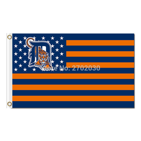 Detroit Tigers USA Flag 3X5 Feet MLB,  [product_collection], DEFINITE Sporting Goods, [product_tags]- DEFINITE Sporting Goods