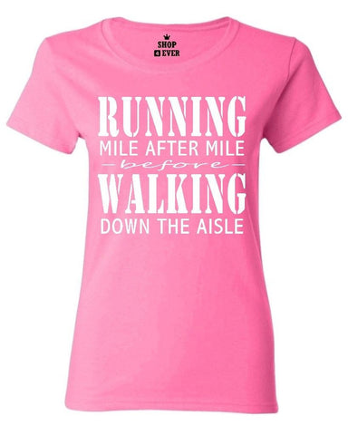 Runner Mile After Mile Women's T-Shirt,  [product_collection], DEFINITE Sporting Goods, [product_tags]- DEFINITE Sporting Goods