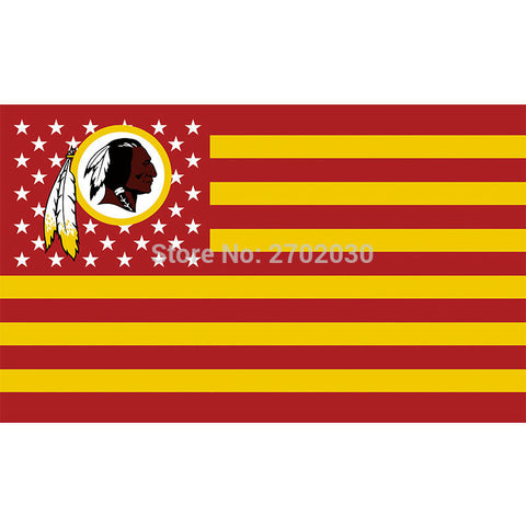 Washington Redskins USA Flags 3X5FT,  [product_collection], DEFINITE Sporting Goods, [product_tags]- DEFINITE Sporting Goods