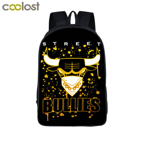 Street Bullies Chicago Bulls Back Pack,  [product_collection], DEFINITE Sporting Goods, [product_tags]- DEFINITE Sporting Goods