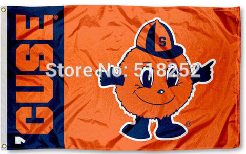 Syracuse University CUSE Flag 3x5 FT,  [product_collection], DEFINITE Sporting Goods, [product_tags]- DEFINITE Sporting Goods