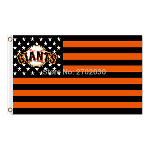 San Francisco Giants USA Flag 3X5 Feet MLB,  [product_collection], DEFINITE Sporting Goods, [product_tags]- DEFINITE Sporting Goods