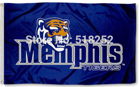 University of Memphis Tigers Flag 3x5 FT,  [product_collection], DEFINITE Sporting Goods, [product_tags]- DEFINITE Sporting Goods
