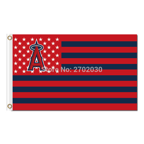 Los Angeles Angels Of Anaheim USA Flag 3X5 Feet MLB,  [product_collection], DEFINITE Sporting Goods, [product_tags]- DEFINITE Sporting Goods