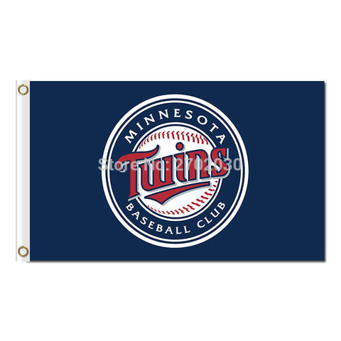 Minnesota Twins Flag 3X5 Feet,  [product_collection], DEFINITE Sporting Goods, [product_tags]- DEFINITE Sporting Goods