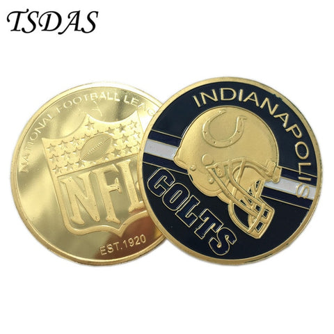 NFL Indianapolis Colts Collectible Coin,  [product_collection], DEFINITE Sporting Goods, [product_tags]- DEFINITE Sporting Goods
