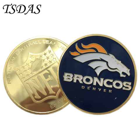 NFL Denver Broncos Collectible Coin,  [product_collection], DEFINITE Sporting Goods, [product_tags]- DEFINITE Sporting Goods