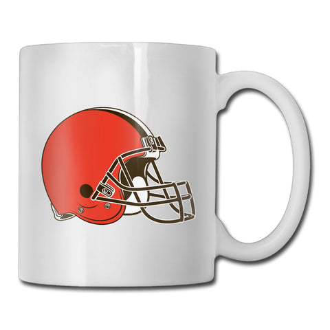 Cleveland Browns Logo Coffee Mug,  [product_collection], DEFINITE Sporting Goods, [product_tags]- DEFINITE Sporting Goods
