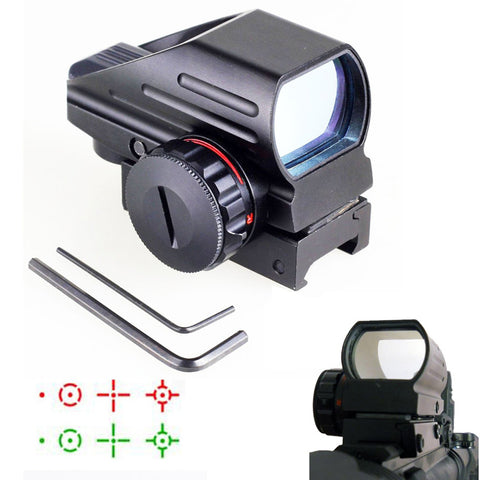 Red/Green Laser 4 Reticle Holographic Projected Dot Sight Scope,  [product_collection], DEFINITE Sporting Goods, [product_tags]- DEFINITE Sporting Goods