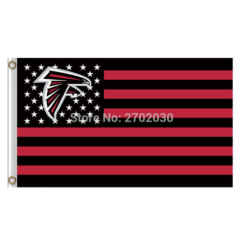 Atlanta Falcons Flag USA 3ftx5ft,  [product_collection], DEFINITE Sporting Goods, [product_tags]- DEFINITE Sporting Goods