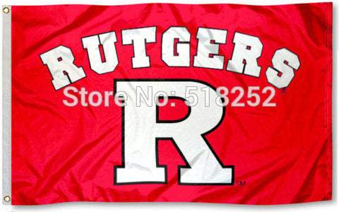 Rutgers Banner Flag R University Flag 3x5FT,  [product_collection], DEFINITE Sporting Goods, [product_tags]- DEFINITE Sporting Goods