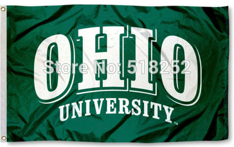 Ohio Bobcats Flag 3x5 FT,  [product_collection], DEFINITE Sporting Goods, [product_tags]- DEFINITE Sporting Goods
