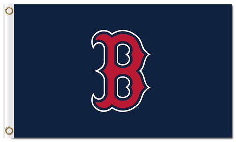 B logo Boston Red Sox Flag,  [product_collection], DEFINITE Sporting Goods, [product_tags]- DEFINITE Sporting Goods